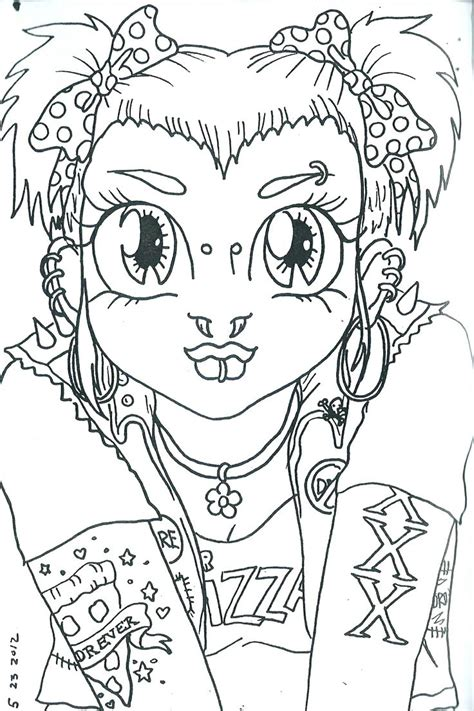 rocker boy coloring pages