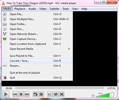 format video vlc how to convert audio or video files to any format using