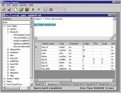 sql query analyser tutorial microsoft access less daunting front end for sql server