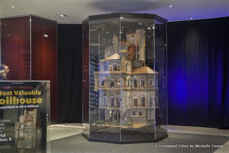 expensive doll houses 8 5 million astolat dollhouse castle now on view at columbus circle nyc untapped cities