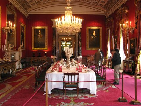 great dining room chatsworth house  great dining