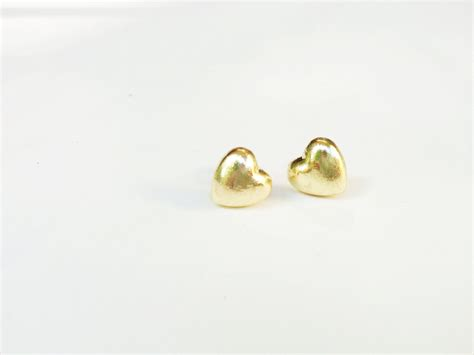 tiny gold earrings 183 white
