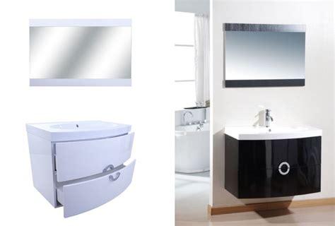 bathroom vanity units modern designer black and white