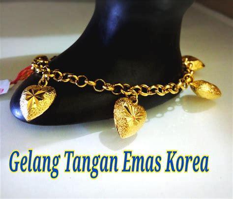 Sale Gelang Fashion Klabang gelang tangan emas korea 36 end 10 20 2017 8 15 pm