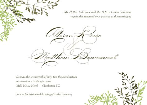 Diy Convites De Casamento Lindos F 243 Runs O Nosso Casamento Small Invitation Template