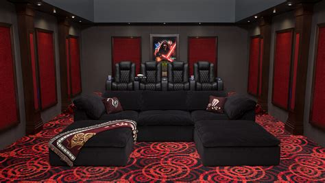 complete home theater decor packages 4seating