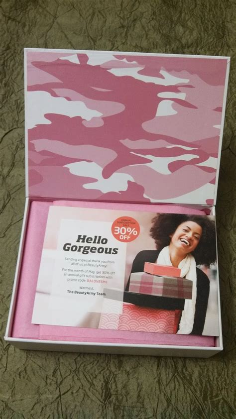 beauty army coupon