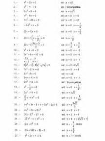 inecuaciones para primer grado primaria 17 best images about ecuaciones de segundo grado on