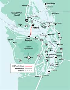 Car Ferry From Port Angeles To Victoria The Route Black Ball Ferry Line Daily Departures To