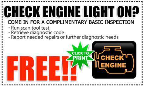 check engine light service toyota check engine light service special san diego