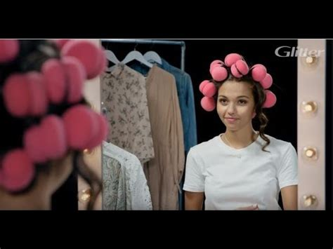 Hair Curlers Tutorial by Hair Rollers Tutorial By Glitter