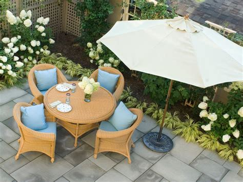 Consider A Covered Patio Hgtv Cottage Patio Furniture