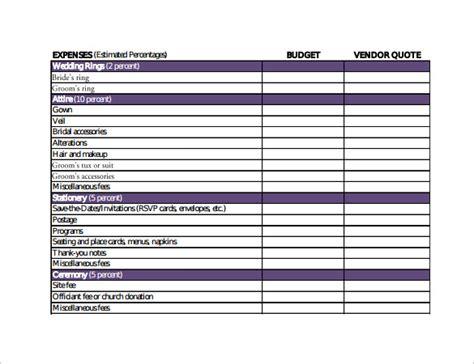 wedding budget calculator sle wedding budget calculator 8 documents in pdf excel