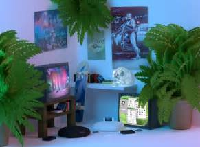 Red Letter Media The Room - vaporwave art