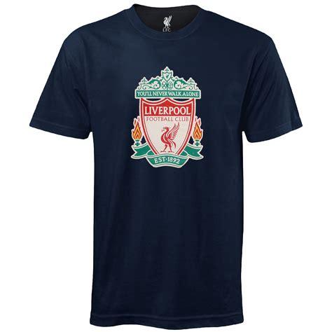 Tshirt Liverpool Fc 4 liverpool fc official football gift mens crest t shirt ebay