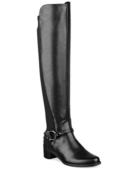marc fisher the knee boots marc fisher kemos the knee boots shoes macy s