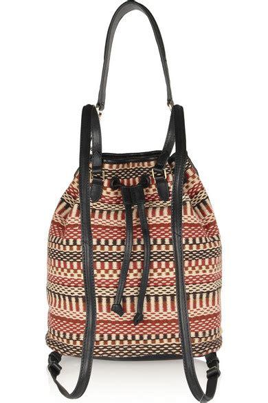 Elizabeth Bag Nangi Backpack Brown elizabeth and cynnie sling woven cotton and