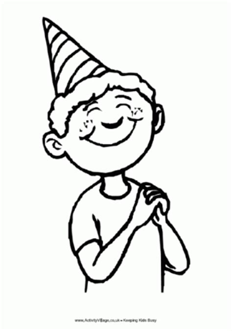 Coloring Page For 5 Year Boy by Birthday Colouring Pages