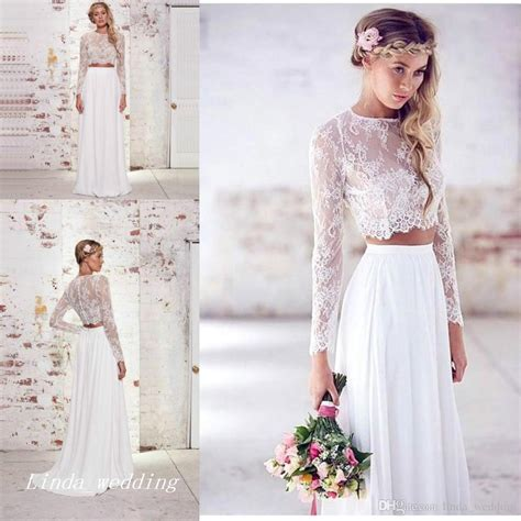 Promo Temurah Boho High Quality Ks wedding gowns picture more detailed picture about 2017