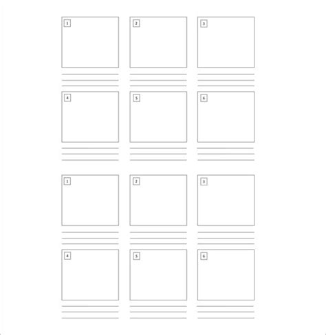 kids storyboard templates 8 free word excel pdf ppt