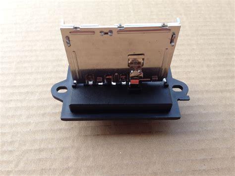 blower motor resistor values r025 new hvac blower motor resistor oem 27150ed000 27150ed00a 27150eda00a ebay