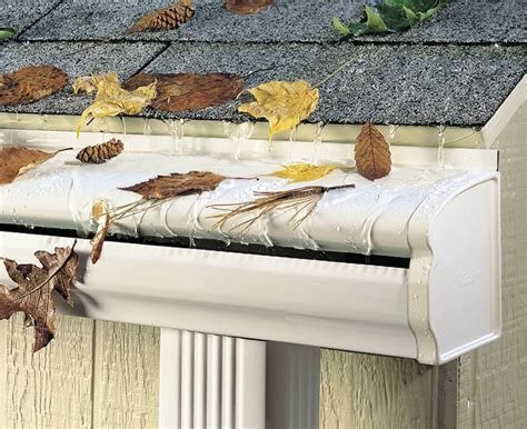 Average Price Of Seamless Gutters Installed - seamless gutters cost estimate gutter prices per linear