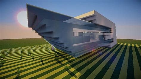 east side craft house east ultramodern house minecraft project