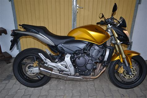 Honda Hornet 600 Pc41 Tieferlegung by Honda Cb 600 Hornet Pc41 Bj 2007 In Gold Gekauft