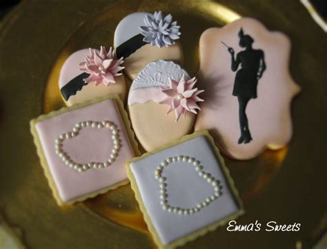 Handmade Cookies - the great gatsby custom cookie set cookie connection