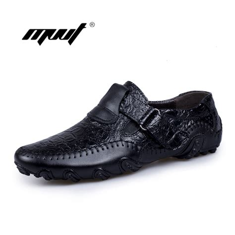 Handmade Genuine Leather S Shoes - handmade genuine leather casual shoes s flats luxury