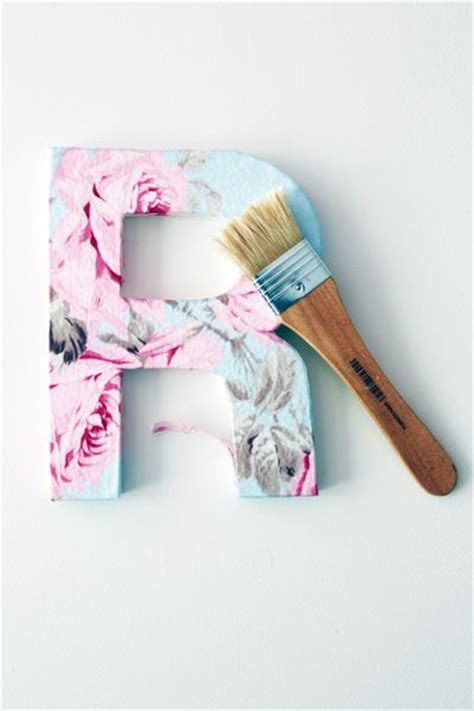 Decoupage Letter Ideas - 50 monogram wall decore ideas creativecollections