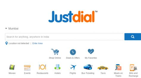 Justdial Address Search Just India App For Iphone