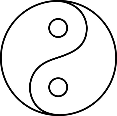 Yin Yang Coloring Pages | free coloring pages of yin yang