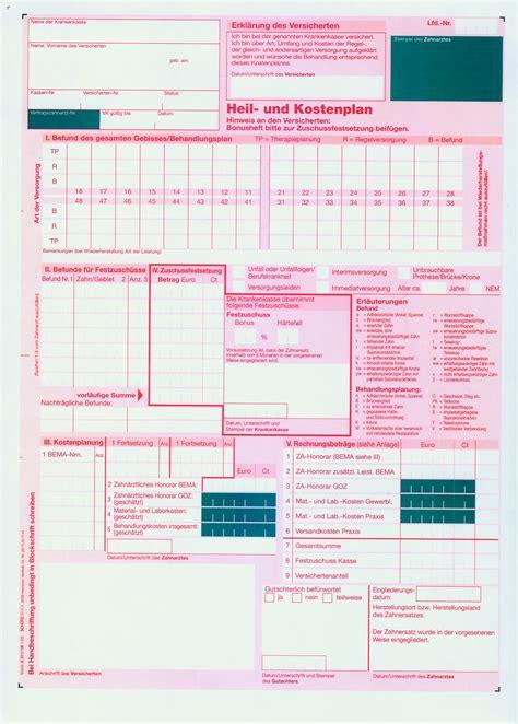 Muster Anschreiben Heil Und Kostenplan heil und kostenplan