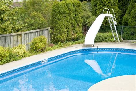 Water Slides For Backyard Pools by Backyard Swimming Pools Types And Cost Epic Home Ideas