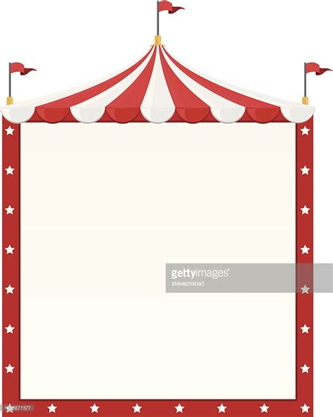 Carnival Borders Clipart by Circus Border Vector Getty Images