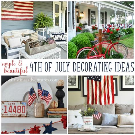 patriotic home decor ideas 4th of july decorations christinas adventures