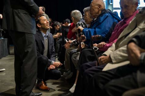 An American Frank Nishimura Message On Internment S 75th Anniversary We Can T Let This Happen Again Houston Chronicle
