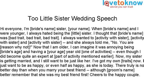 download maid of honor speeches for sisters 1 for free