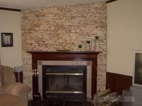 veneer used around fireplace veneer being