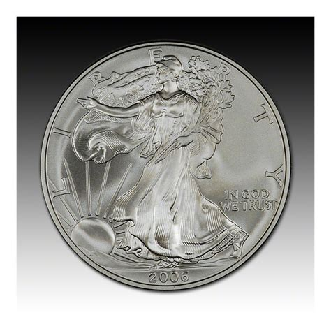 2006 w american silver eagle uncirculated collectors burnished coin ebay