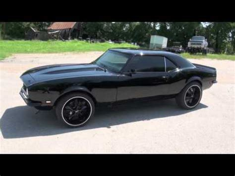 1968 camaro blacked out 350 auto 1439 youtube