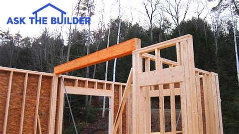 Gable Roof House Plans by Column And Beam Construction Ask The Builderask The Builder