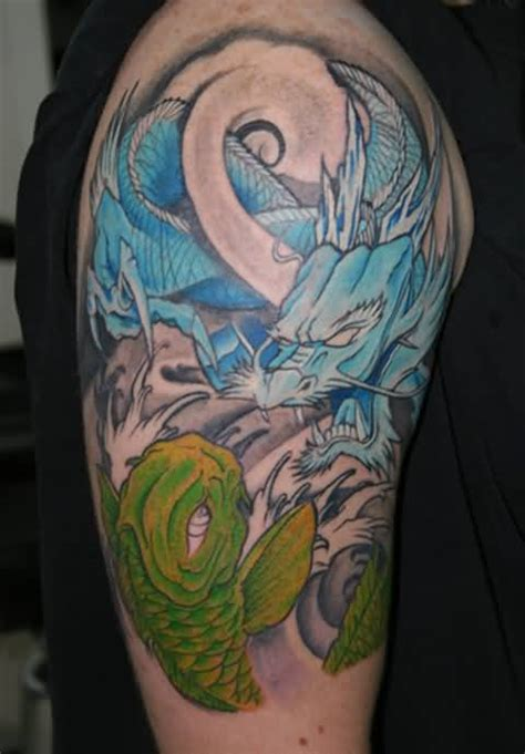 tattoo koi fish turning into dragon story of koi fish tatto turning into dragon