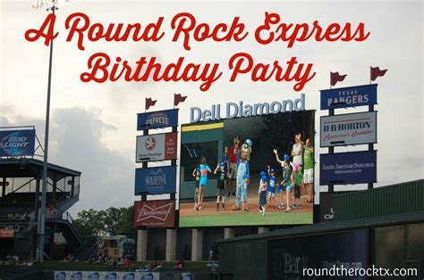 round rock express announces 2016 home schedule a round rock express birthday party round the rock