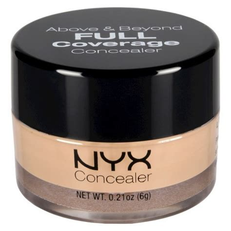 Nyx Above And Beyond Concealer nyx nyx above beyond coverage concealer review