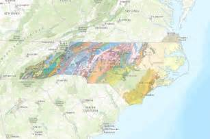 interactive map of the geology of carolina