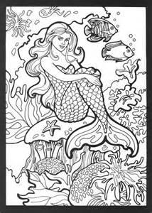 mermaid coloring pages for adults best 25 mermaid coloring ideas on