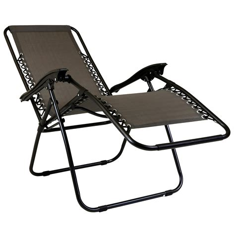 Gravity Reclining Chair by Charles Bentley Zero Gravity Reclining Garden Chair