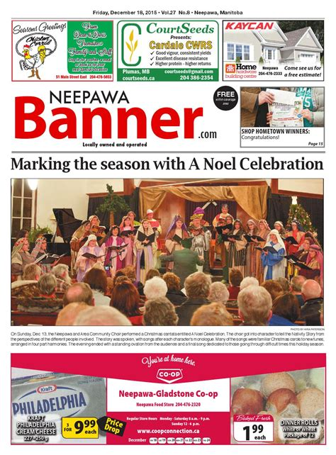 come friday bishop family volume 8 books december 18 2015 neepawa banner by neepawa banner press